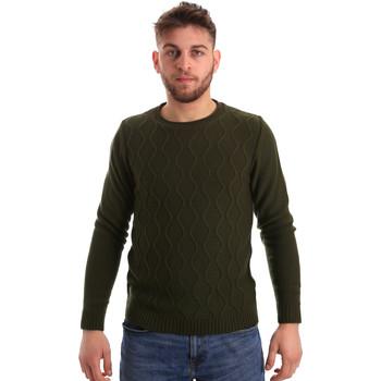 vaatteet Miehet Neulepusero Bradano 155 Vihreä