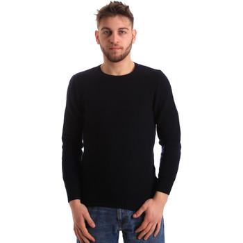 vaatteet Miehet Neulepusero Bradano 172 Sininen