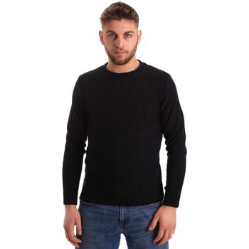 vaatteet Miehet Neulepusero Bradano 155 Sininen