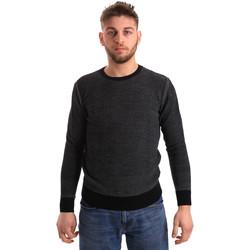 vaatteet Miehet Neulepusero Bradano 168 Sininen
