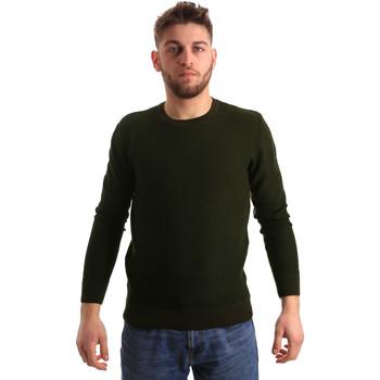vaatteet Miehet Neulepusero Bradano 168 Vihreä