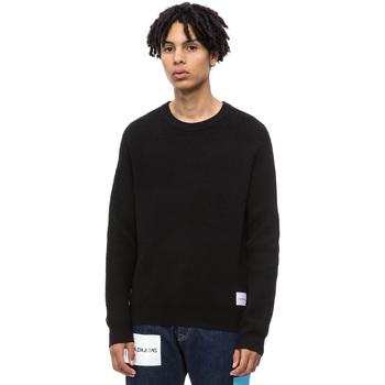 vaatteet Miehet Neulepusero Calvin Klein Jeans J30J309547 Musta