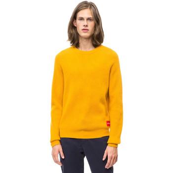 vaatteet Miehet Neulepusero Calvin Klein Jeans J30J309547 Keltainen