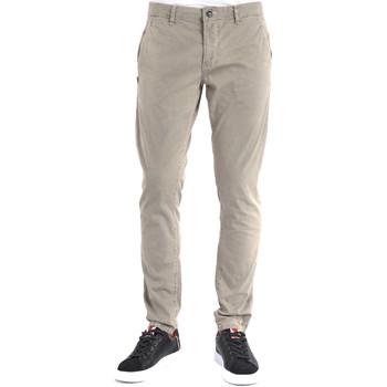 vaatteet Miehet Chino-housut / Porkkanahousut Gaudi 911BU25015 Harmaa