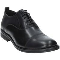 kengät Miehet Herrainkengät Exton 9554 Musta