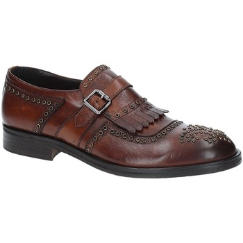 kengät Miehet Derby-kengät Exton 5359 Ruskea