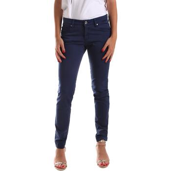 vaatteet Naiset 5-taskuiset housut Gaudi 911BD25010 Sininen