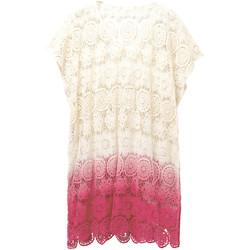 vaatteet Naiset Tunika Desigual 19SAWF53 Valkoinen