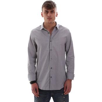 vaatteet Miehet Pitkähihainen paitapusero Calvin Klein Jeans J30J313171 Sininen