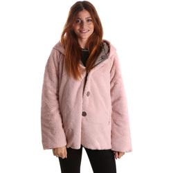 vaatteet Naiset Parkatakki Byblos Blu 689104 Vaaleanpunainen