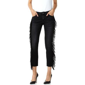 vaatteet Naiset 3/4 & 7/8-pituiset farkut Liu Jo F68203D4259 Musta