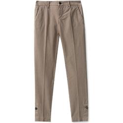 vaatteet Naiset Chino-housut / Porkkanahousut Liu Jo W68321T6468 Ruskea