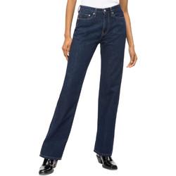 vaatteet Naiset Suorat farkut Calvin Klein Jeans J20J207612 Sininen