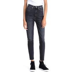 vaatteet Naiset Boyfriend-farkut Calvin Klein Jeans J20J207652 Sininen