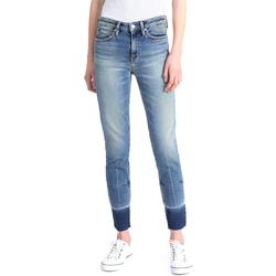 vaatteet Naiset Slim-farkut Calvin Klein Jeans J20J208060 Sininen