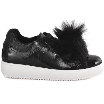 kengät Naiset Matalavartiset tennarit IgI&CO 2154822 Musta