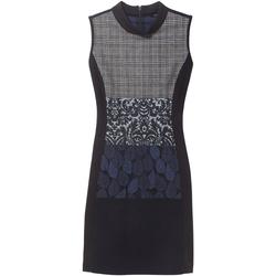 vaatteet Naiset Lyhyt mekko Desigual 18WWVW21 Sininen