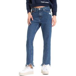 vaatteet Naiset Boyfriend-farkut Tommy Hilfiger DW0DW04757 Sininen