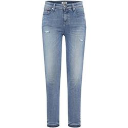 vaatteet Naiset Boyfriend-farkut Tommy Hilfiger DW0DW05011 Sininen
