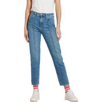 vaatteet Naiset Slim-farkut Wrangler W239RI Sininen