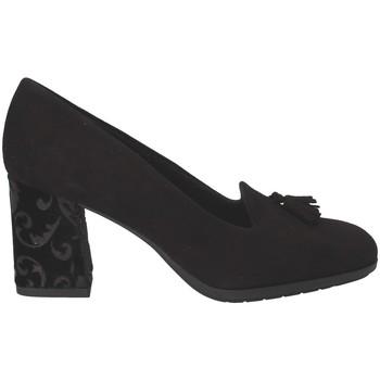 kengät Naiset Mokkasiinit Grunland SC4072 Musta