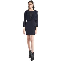 vaatteet Naiset Lyhyt mekko Gaudi 821BD15021 Sininen