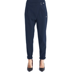 vaatteet Naiset Chino-housut / Porkkanahousut Gaudi 821BD25031 Sininen