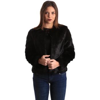 vaatteet Naiset Pusakka Gaudi 821BD39002 Musta
