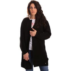 vaatteet Naiset Neuleet / Villatakit Gaudi 821BD53024 Musta