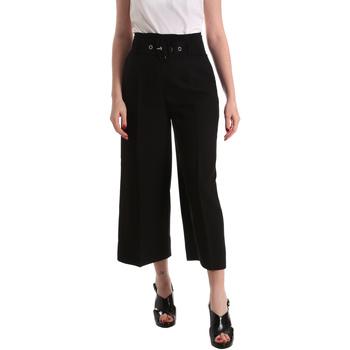 vaatteet Naiset Väljät housut / Haaremihousut Gaudi 821FD25001 Musta