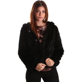 vaatteet Naiset Pusakka Gaudi 821FD39003 Musta