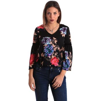 vaatteet Naiset Topit / Puserot Gaudi 821FD45009 Musta