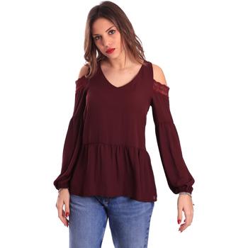 vaatteet Naiset Topit / Puserot Gaudi 821FD45030 Violetti