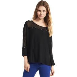vaatteet Naiset Neulepusero Gaudi 821FD53027 Musta