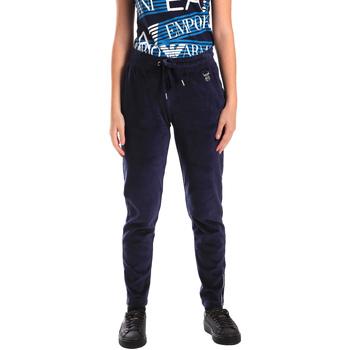 vaatteet Naiset Verryttelyhousut Ea7 Emporio Armani 6ZTP87 TJN9Z Sininen