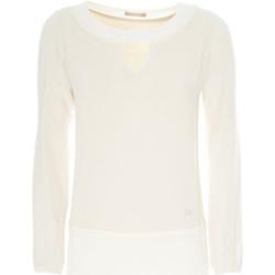 vaatteet Naiset Neulepusero Nero Giardini A862370D Valkoinen