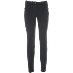 vaatteet Naiset Chino-housut / Porkkanahousut NeroGiardini A860301D Sininen