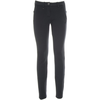 vaatteet Naiset Chino-housut / Porkkanahousut Nero Giardini A860301D Sininen