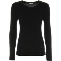 vaatteet Naiset Neulepusero NeroGiardini A864350D Musta