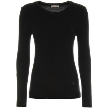 vaatteet Naiset Neulepusero Nero Giardini A864350D Musta