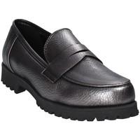 kengät Naiset Mokkasiinit Grace Shoes 0215 Harmaa