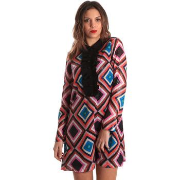 vaatteet Naiset Lyhyt mekko Denny Rose 821DD10026 Musta