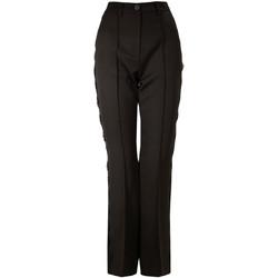 vaatteet Naiset Chino-housut / Porkkanahousut Denny Rose 821DD20001 Musta
