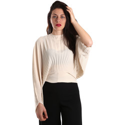 vaatteet Naiset Topit / Puserot Denny Rose 821DD40001 Beige