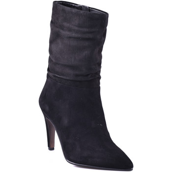 kengät Naiset Nilkkurit Elvio Zanon I2902X.ELZCAMNERO Musta
