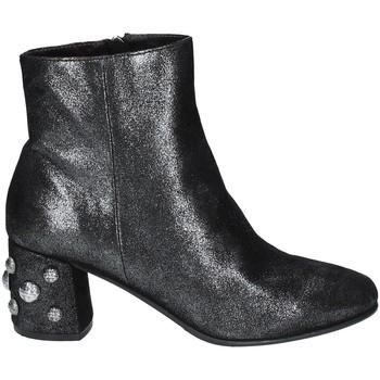kengät Naiset Nilkkurit Elvio Zanon I5503G.ELZMPHANTRA Musta