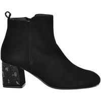 kengät Naiset Nilkkurit Melluso Z801E Musta