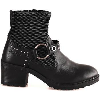kengät Naiset Nilkkurit Wrangler WL182550 Musta