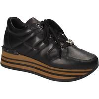 kengät Naiset Matalavartiset tennarit Triver Flight 232-11A Musta