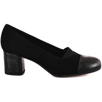 kengät Naiset Korkokengät Grunland SC4044 Musta